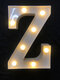 LED English Letter And Symbol Pattern Night Light Home Room Proposal Decor Creative Modeling Lights For Bedroom Birthday Party - #26