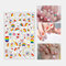 3D Colorful Nail Sticker Fruit Rainbow Series Simple Lovely Decoration Manicure Sticker - 7