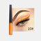 Matte Liquid Eyeliner Quick Dry Wasserdichter Eyeliner Bleistift Braun Lila Farbe Eyeliner Kosmetisches Make-up-Werkzeug - 10