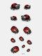 40 piezas 3D estéreo Impermeable tatuajes pegatinas escorpión flor transferencia de agua tatuaje pegatinas - 18