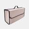 7スタイルフェルトカー収納バッグ多機能トランクカー用品テールボックス - ベージュ