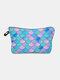 Multifunctional Portable Makeup Bag Fish Scale Women Travel Wash Storage Bag - #04