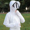 Cycling Cap Clothing Sun Shawl Clothing Cover Face Cap - White