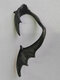 Three-dimensional Metal Bat-Shaped Ear Hook Vintage Animal-Shape Earrings - #05
