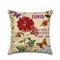 Rose Hug Pillowcase Mediterranean Nordic Style Car Cushion Cover - #5
