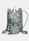 Men Oxford Cloth Tactical Camouflage Outdoor Riding Climbing Sport Water Bottole Pocket Backpack - #04
