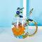 Эмалированная чашка Подарочная чашка Цветочная чашка Стеклянная эмалированная чайная кружка Кофейная чашка с ложкой - #4