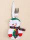 1 قطعة سكين عيد الميلاد شوكة مجموعة أدوات المائدة تنورة السراويل نافيداد ناتال طاولة طعام زينة عيد الميلاد للمنزل عيد الميلاد - #02