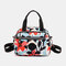 Women Nylon Waterproof Casual Handbag Crossbody Bag - #01