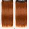 26 цветов длинные прямые Волосы удлинители 5 зажимов ложные Волосы шт. Высокотемпературное волокно Парик - 13
