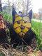 1PC Acrylic Koroks Family Zelda Game-theme Leaf Fairy Insert Card For Garden Decor Game Lovers - #04