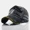 Baseball Cap Retro Sun Hat Embroidery Hats - Black