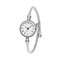 Simple Trendy Women Watches Full Alloy Roman Numerals No Number Dial Ultra-Light Quartz Watches - 01