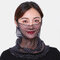 Polka Dot Floral Breathable Printing Masks Neck Protection Sunscreen Ear-mounted Scarf - #01