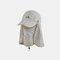 Sun Protection Foldable Cover Face Visor Outdoor Fishing Hat Summer Quick-drying Cap Breathable Hat Baseball Cap - Khaki