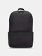 Oxford Multicolor Minimalist Stress Reliever Splashproof Breathable Outdoor Travel Backpack - Black