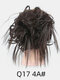 41 Colors Chicken Tail Hair Ring Messy Fluffy Rubber Band Curly Hair Bag Wig - 03