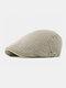 पुरुषों के कपास Plus सिर परिधि एडजस्टेबल आरामदायक फ्लैट टोपी आगे टोपी टोपी टोपी - हाकी