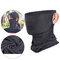 Unisex Breathable Quick-Drying Sunshade Anti-UV400 Flexible Soft Multi-Functional Face Mask Hat - Dark Gray