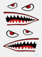 Halloween Temporary Tattoo Sticker Party Props Horror Bloody Scar Tattoo Transfer Paper - #15