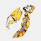 Ponytail Scarf Elastic Hair Rope Hair Bow Ties Scrunchies Hair Bands Flower Print Ribbon Hairbands - 6