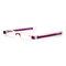 New Folding 360 Rotating Reading Glasses Unisex Pen Type Optical Glasses Eye Health Care - Purple
