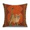 Retro Style Cats Leinen Baumwolle Kissenbezug Home Sofa Art Decor Throw Kissenbezug - #6