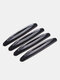 4 Pcs Car Door Universal Anti-collision Protector Guard Strip Scratch Protector Auto Door Edge Protection Car Decoration - Black