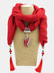 Bohemian Drop Shape Gem Pendant Scarf Necklace Women Tassel Multi-layer Necklace - #01