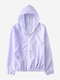 Thin Section Sun Protection Clothing Thin Coat - Purple