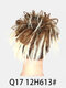 41 Colors Chicken Tail Hair Ring Messy Fluffy Rubber Band Curly Hair Bag Wig - 35