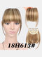 Air Bangs Wig Piece Chemical Fiber No-Trace Seamless Bangs Hair Extensions - #07
