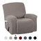 أغطية كرسي كرسي عالية التمدد شاملة كليًا ضد للماء غطاء أريكة مضاد للانزلاق قابل للغسل واقي أثاث 7 ألوان - بنى