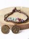 Vintage Constellation Circle-shape Ceramic Alloy Bracelets - #07