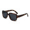Women Full Frame Square Shape Casual Classical UV Protection Sunglasses - Leopard