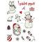 Luminous Tattoo Sticker Festive Party Tattoos Cute Cartoon Christmas Temporary Tattoo Stickers - 05