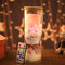 Rainbow Rose Night Light Valentine's Day Gift Romantic Decoration Light Dried Flower Eternal Flower  - #3