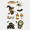 Halloween Luminous Tattoo Children Cartoon Stickers Body Art Waterproof Fake Temporary Tattoo Transfer Paper - 13
