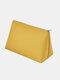 Large Capacity Makeup Bag Portable Travel Dustproof Waterproof Storage Bag - Yellow