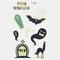 Halloween Luminous Tattoo Children Cartoon Stickers Body Art Waterproof Fake Temporary Tattoo Transfer Paper - 18