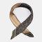Retro Print Imitation Silk Small Square Scarf Satin Silk Scarf Headband Wild Scarf - #02