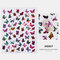 3D Waterproof Butterfly Nail Art Stickers Cute Simulation Laser Watermark Manicure Decorations Stickers - 7