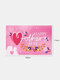 Happy Mother's Day Background Hanging Cloth Home Yard Indoor Outdoor Party Decor Festival Atmosphere Exquisite Banner - Pink