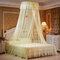 Techo Dome Toldo grande para cama con mosquitero Máxima protección contra insectos Sin irritación de la piel - Amarillo