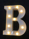 LED English Letter And Symbol Pattern Night Light Home Room Proposal Decor Creative Modeling Lights For Bedroom Birthday Party - #02
