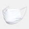 10Pcs Reusable Cotton Dust-proof Breathable Mask Three-dimensional Cutting Soft Comfortable - White