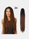 22 цвета цветная грязная коса Спираль длинная Волосы конский хвостик маленькая весна кудрявая Парик - #11