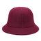 Womens Vogue Wild Elegant Warm Wool Top Hat Winter Casual Outdoor Travel Bucket Hat