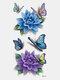 40 piezas 3D estéreo Impermeable tatuajes pegatinas escorpión flor transferencia de agua tatuaje pegatinas - 13