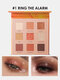 9 Farben Sonnenblume Matte Lidschatten Palette Wasserdicht Nude Pigmented Shining Eye Makeup - #01